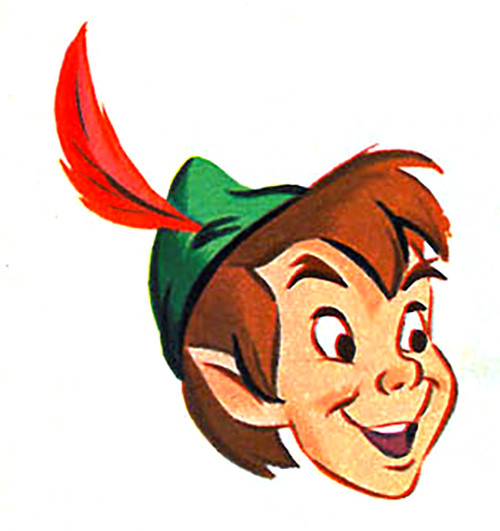 Peter Pan head