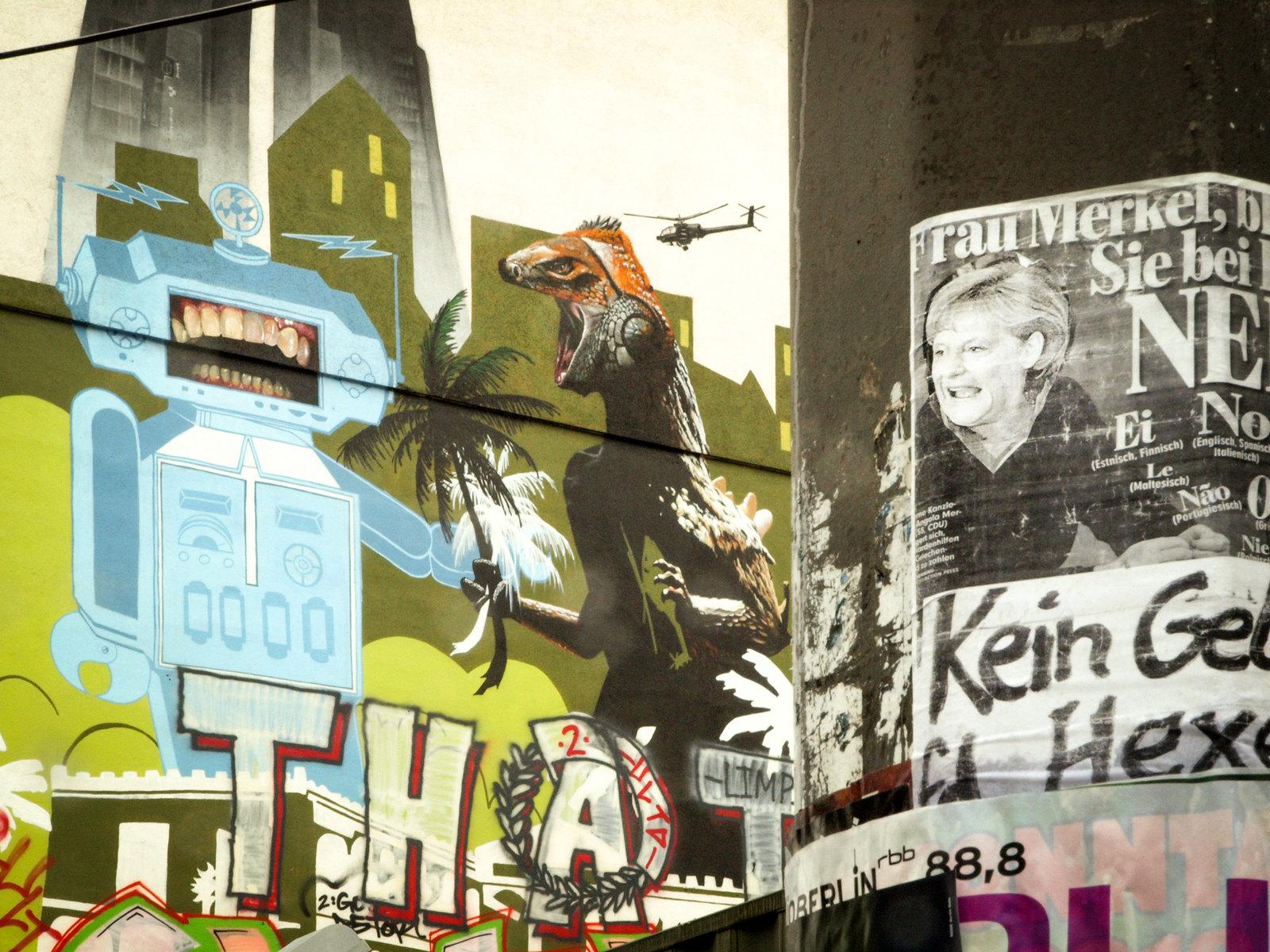 Architecture à Berlin - Les carnassiers