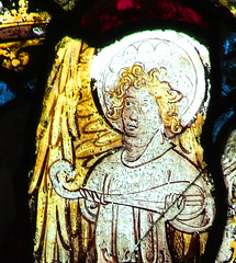 angel playing a lute (15th Century)