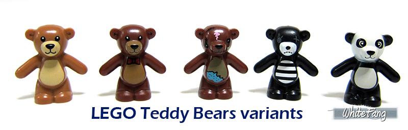 how to make a lego teddy bear