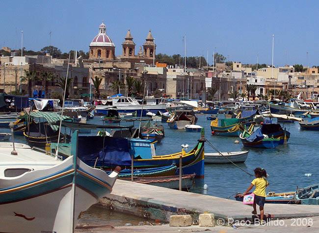 Puerto de Marsaxlokk. © Paco Bellido, 2008