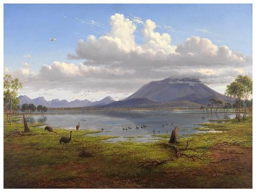 010- Monte William y parte de los Grampians en Victoria West (1865) -Eugen von Guerard -ABC Western Victoria