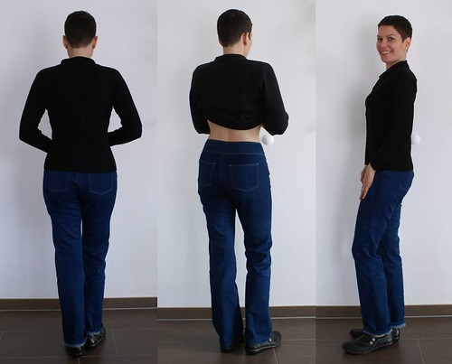 Jeans - Back and side view