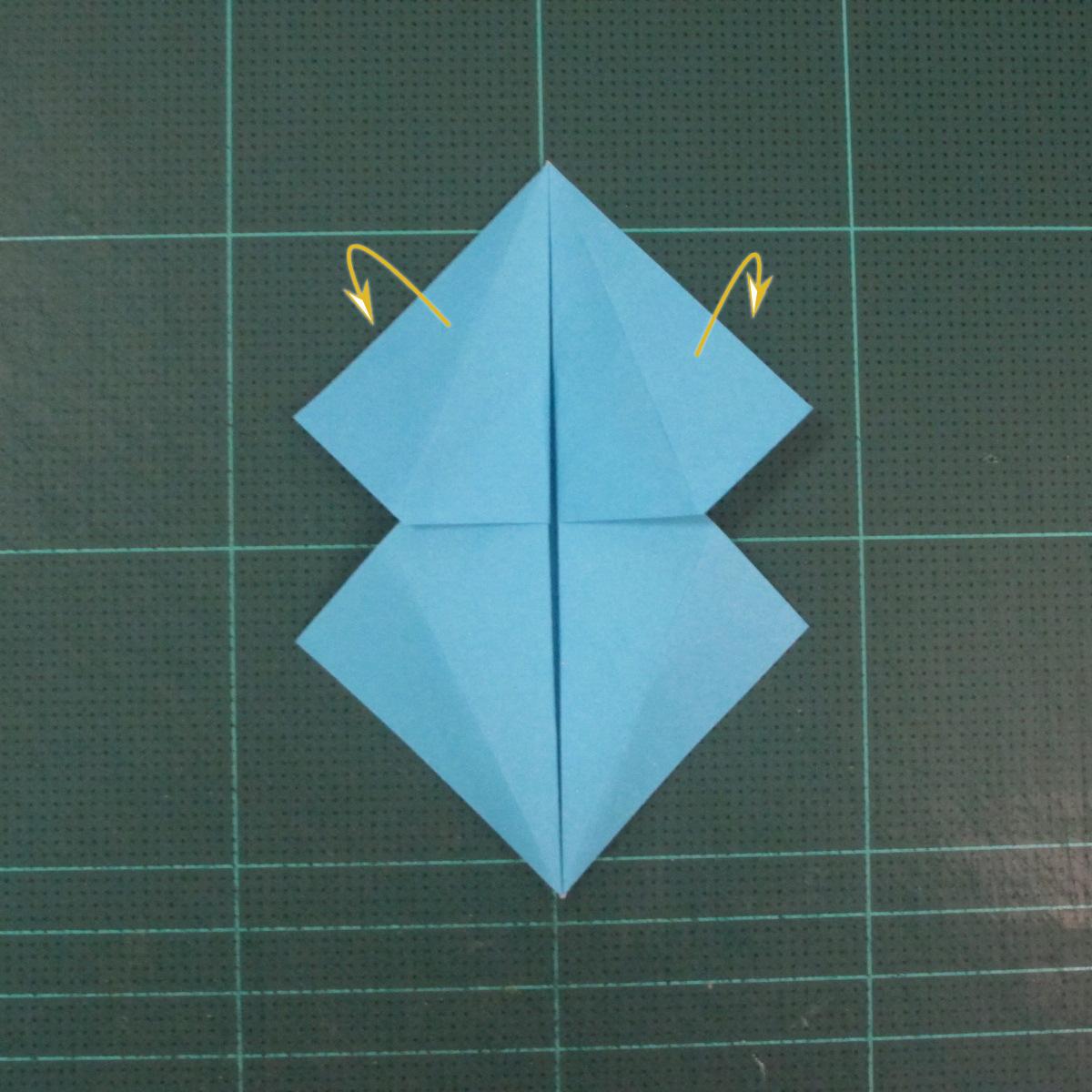 วิธีพับกระดาษเป็นถาดใส่ขนมรูปดาวแปดแฉก (Origami Eight Point Star Candy Tray) 012