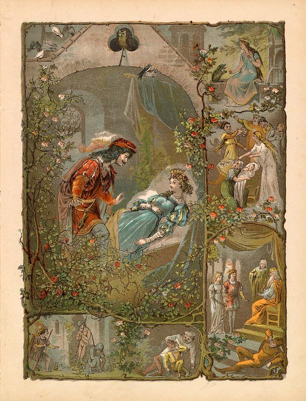 011- La bella durmiente del bosque-Aardige sprookjes- Nationale bibliotheek van Neederland