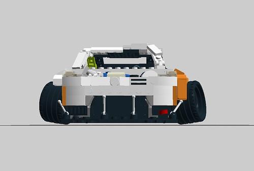 Nissan 350Z Missile car - ground claerance