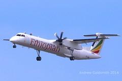 1260 ET-ARN Dash 8 Ethiopian