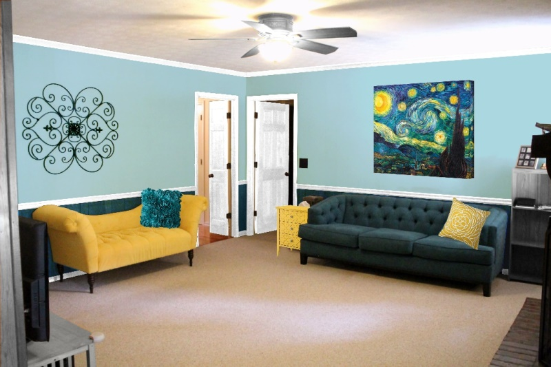 Living Room, paint idea 3