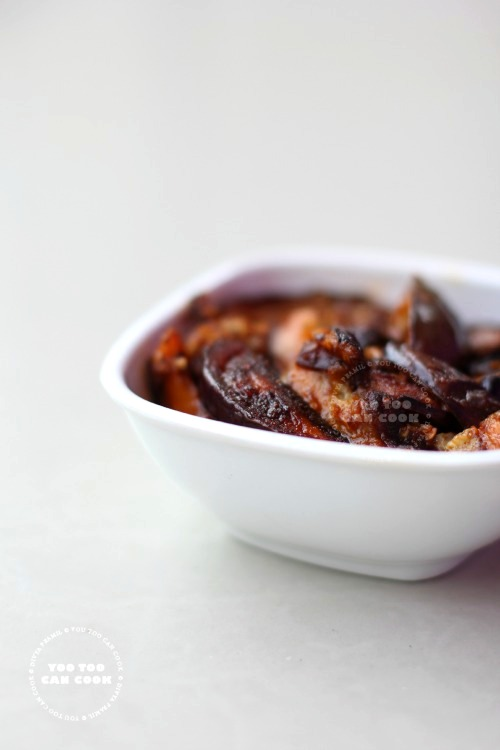 spicy and easy brinjal fry