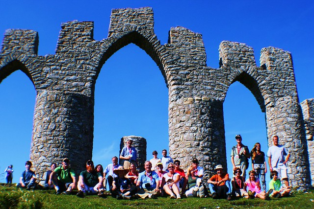 Clan Munro Gathering, Fyrish Monument, Scottish Highlands