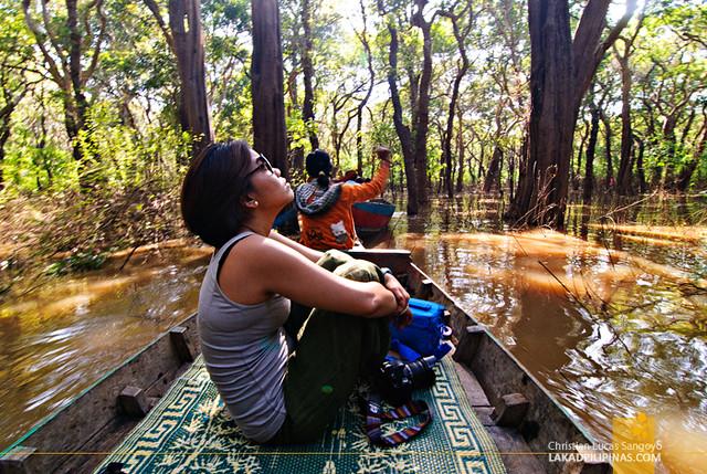 Siem Reap Cambodia Kampong Phluk Floating Village Tonle Sap Lake
