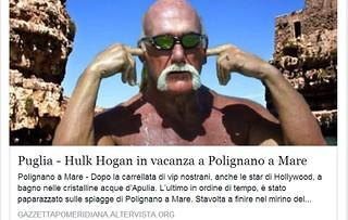 hulk hogan polignano a mare puglia