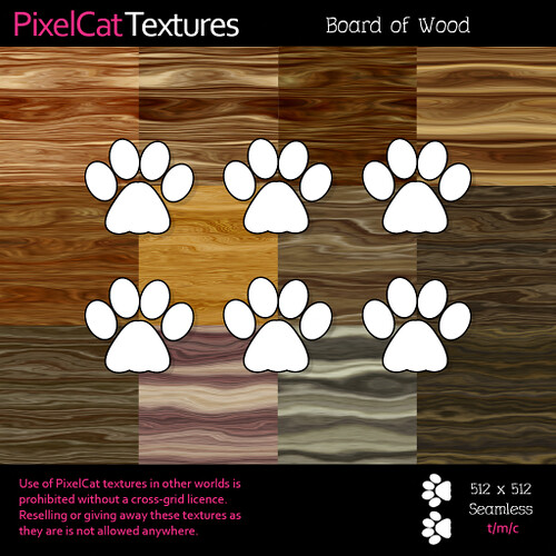 PixelCat Textures - Board of Wood