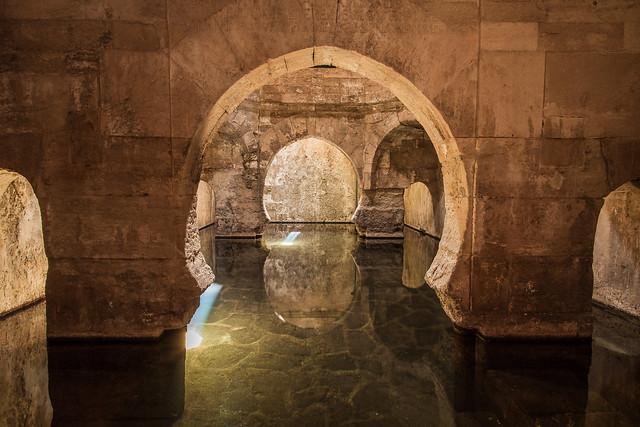 Thermes romains d'Alhama de Granada en Espagne (Andalousie Grenade) - Roman Baths of Alhama de Granada in Spain (Andalusia) - Picture Image Photography