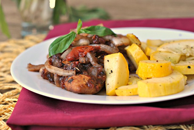 Braised Balsamic Chicken 4