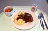 Fleischpflanzerl mit Bratensauce & Kartoffelpüree / Meatball with gravy & mashed potatoes