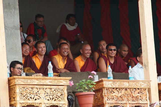 Cham dance, festival at Takthok Gompa. Ladakh, 06 Aug 2014. N030