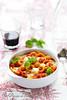 Pâtes gratinées tomate mozzarella