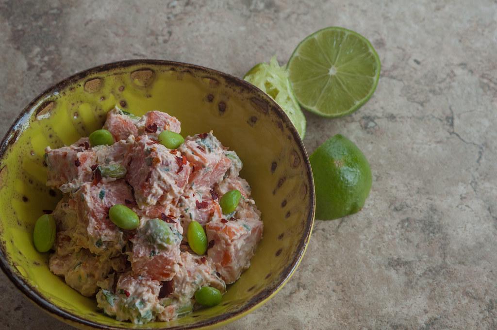 Thai sweet potato salad 6