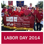 Nurses and Union Activists Throughout California Celebrate Labor Day