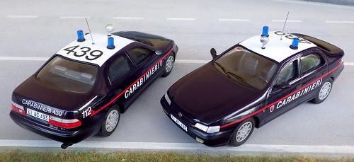 Autoparco Aldo Serini Toyota Carina Carabinieri Radiomobile