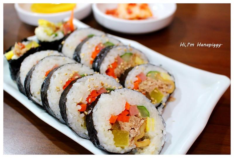 韓國自由行推薦4-1早餐壽司 (36)