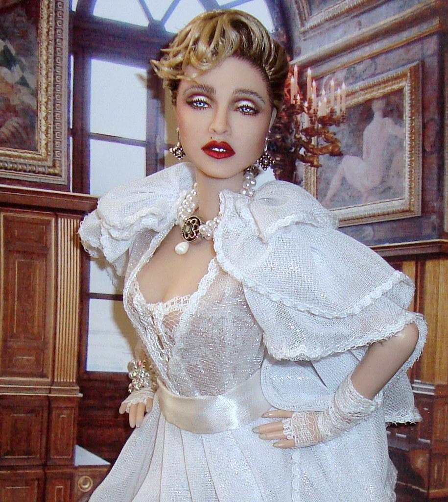 Madonna Like a Virgin Music video Bride doll By Cyguy dolls