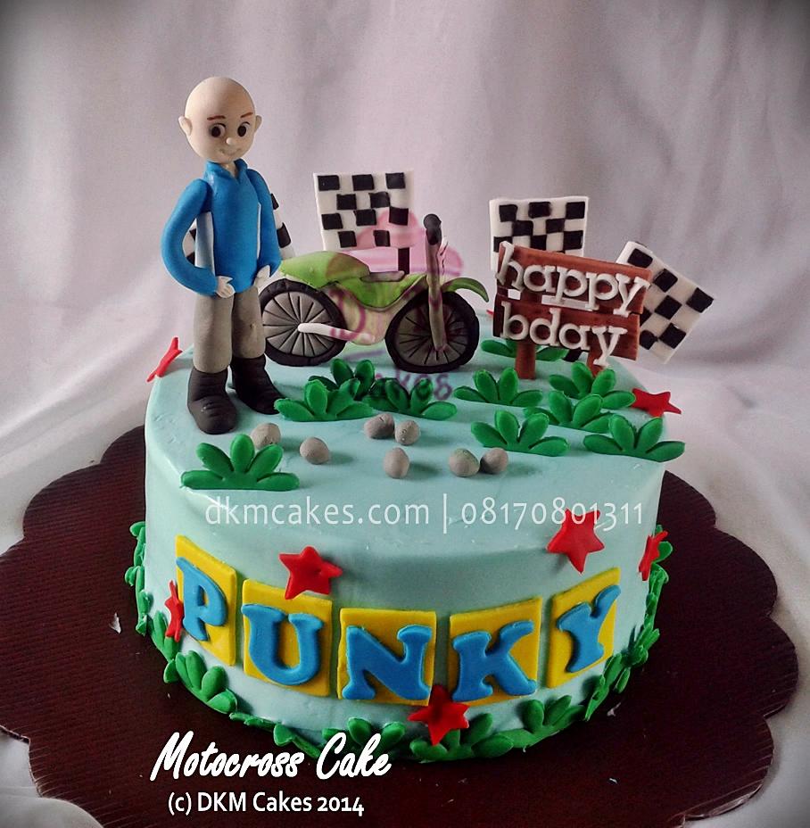Motocross Cake Dkm Cakes Toko Kue Online Jember