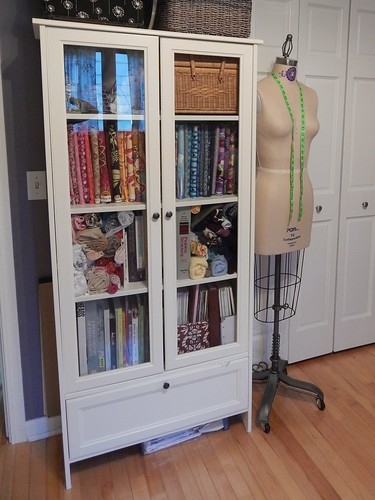 Sewing Room - Ikea cabinet (discontinued)