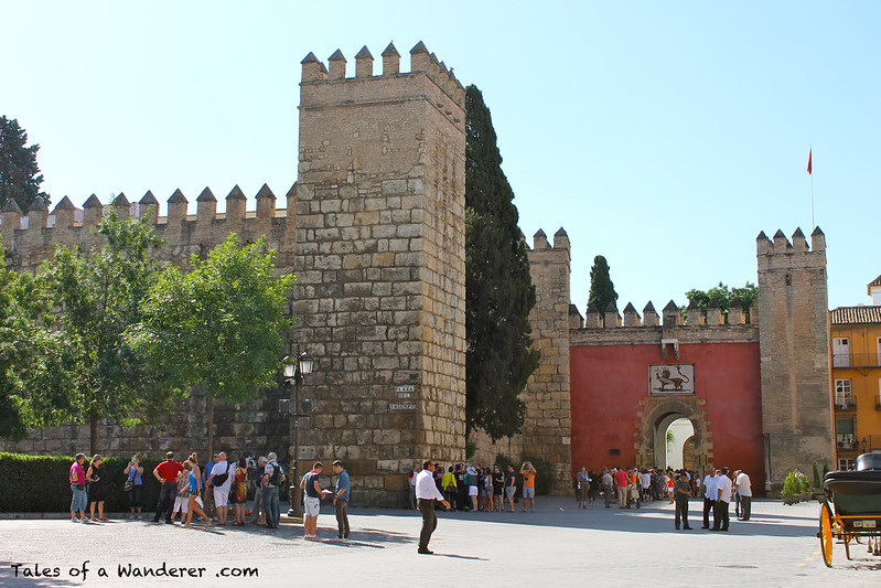 SEVILLA - Reales Alcázares
