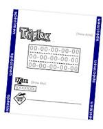 Lotto Triplex Makine Çıktı Görüntüsü