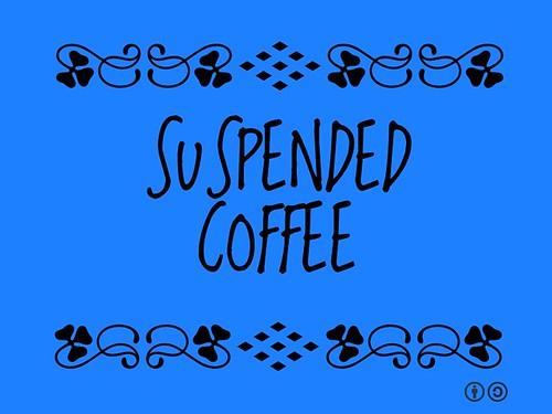 Buzzword Bingo: Suspended Coffee