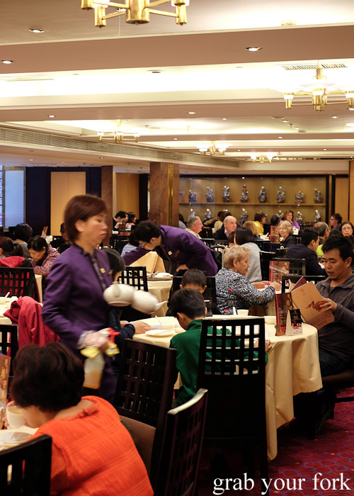 Main dining room at Yung Kee, Central, Hong Kong