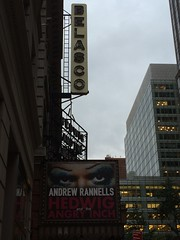 Broadway dims its lights for Joan by Guzilla