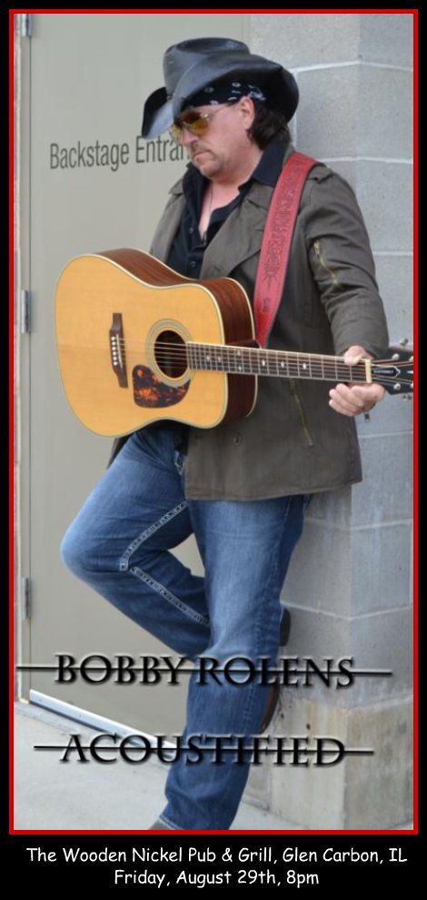 Bobby Rolens Acoustified 8-29-14