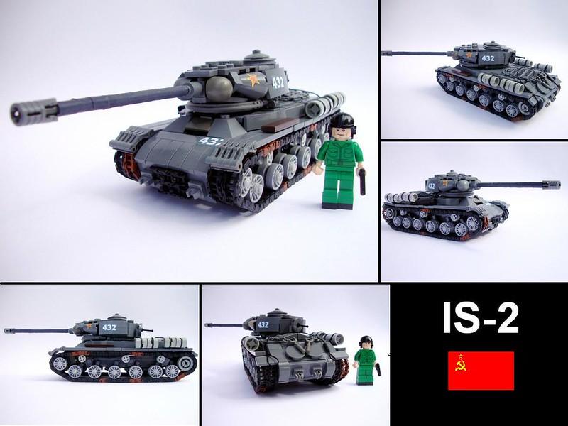 Как сделать из лего танк ис - ВИРЕС
