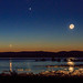 Venus Jupiter Moon Conjunction by Jeff Sullivan (www.JeffSullivanPhotography.com)