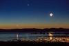 Venus Jupiter Moon Conjunction
