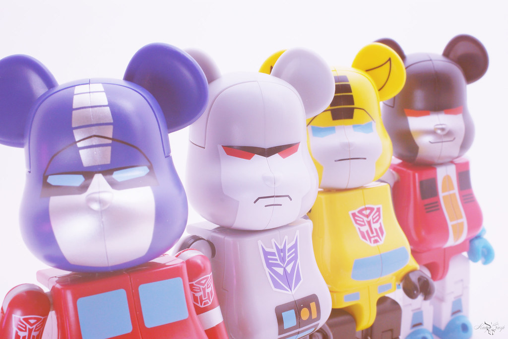 BE@RBRICK X TRANSFORMES