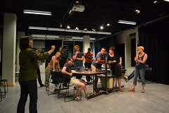 Thu, 2014-08-21 20:34 - Photos from our rehearsal process of the play about making theatre with special attention on the scenes about rehearsal. Wha!? #dontcallitplaypractice