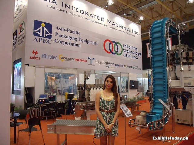 Asia Integrated Machine Trade Show Display