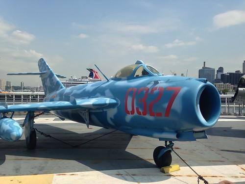 fighter plane @ USS Intrepid