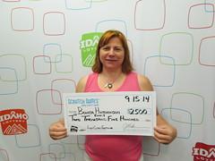 Bonita Hutchinson Ennis - $2,500 First Class Fortune