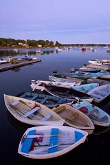 Quiet evening on the dock