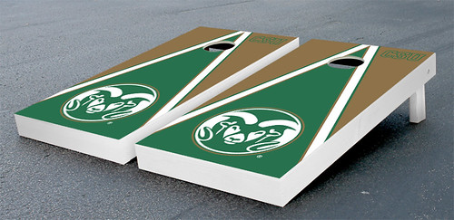 Colorado State University Rams Cornhole Game Set Triangle Version
