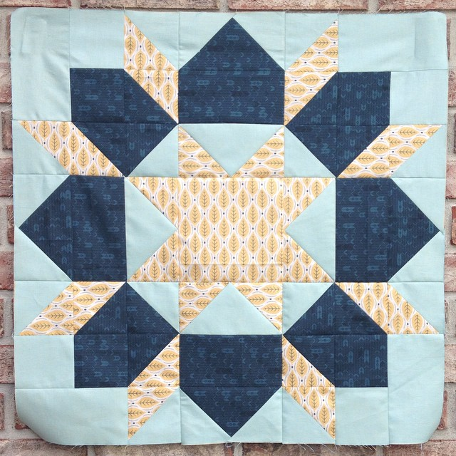 Swoon block no. 3 and my new favorite  @thimbleblossoms 9 more to go  #thimbleblossoms #showmethemoda