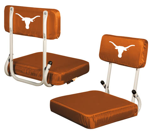 Texas Longhorns Hard Back Stadium Seat
