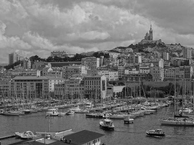 Marseille - Le Vieux Port & Notre Dame de la Garde
