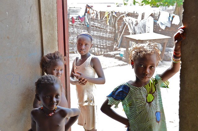Children in Kolda, Senegal