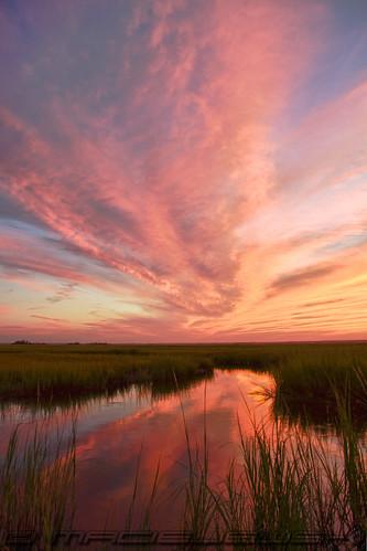 sunset sun set newjersey nj eht wharfroad eggharbortownship
